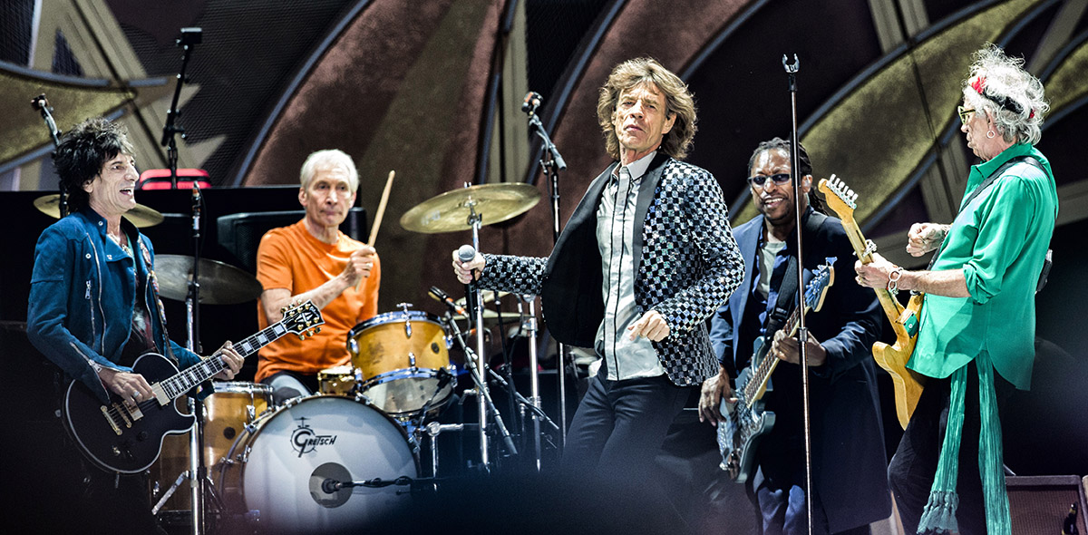 the Rolling Stones pinkpop 2014 © Bullet-ray